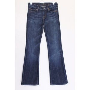 7 for all mankind bootcut jeans size 24